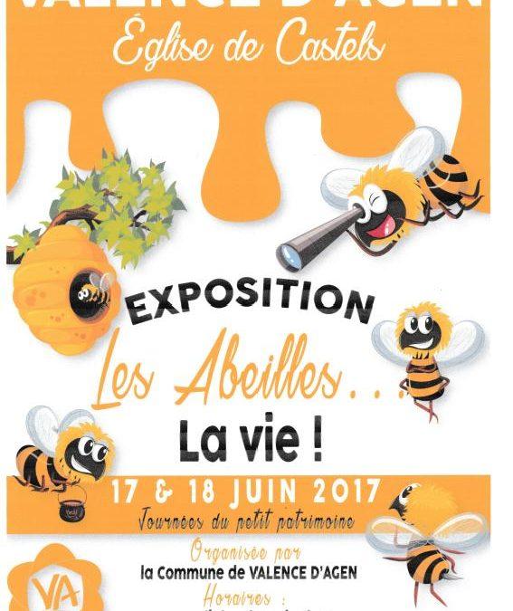 Les abeilles (noires) la vie!